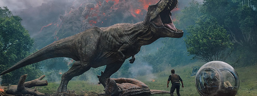 Image from Jurassic World: Fallen Kingdom